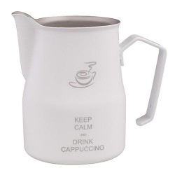 Питчер Motta Europa 50сl белый Keep calm and drink cappuccino